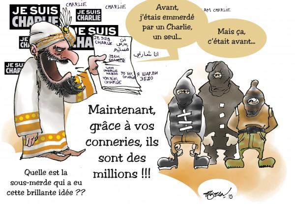 Le Prophète se met en colère contre les djihadistes.